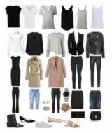 Гардероб - це сукупність наявної у людини в наявності одягу. Базовий гардероб жінки