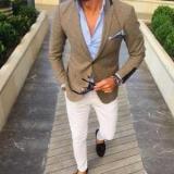З чим носити коричневий піджак: чоловічі та жіночі стильні образи, поради і фото