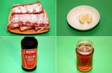 Реберця з медом і соєвим соусом