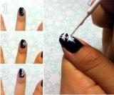 Як намалювати на нігтях сніжинку: інструкція