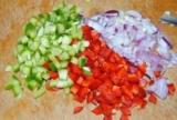 Омлет з мотивів грецького салату