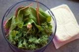 Зелена сирна паста з огірком