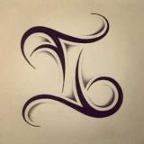 Символи на тілі, татуювання Близнюки